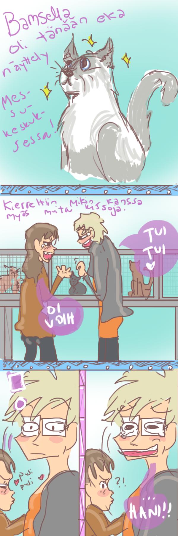 kissanayttely